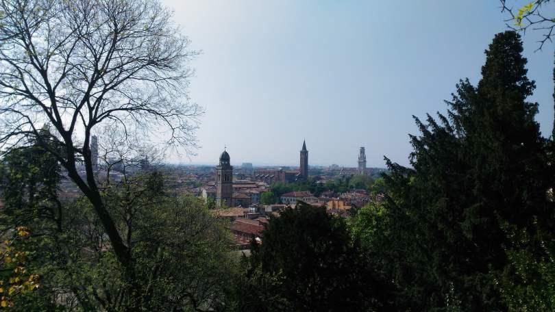 Verona vista da Giardino Giusti