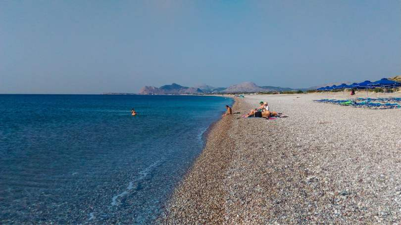 Traganou, Rhodes the 6 most beautiful beaches