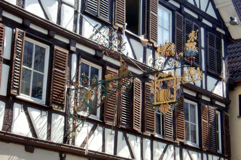 Germania_dettaglio di una casa tipica