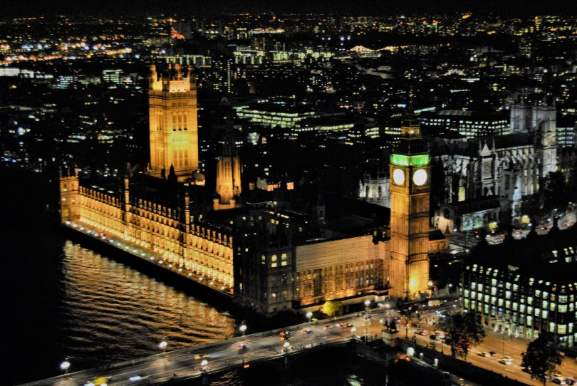 Londra_Houses of Parliament_Guy Fawkes Night