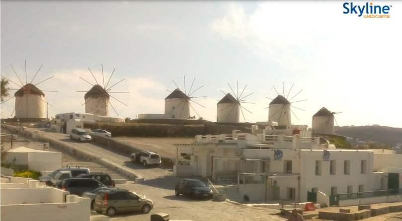 vedere il mondo da una webcam_Mykonos