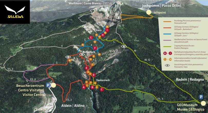 Geoparc Bletterbach: la guida completa (inclusi i 2 itinerari) 1