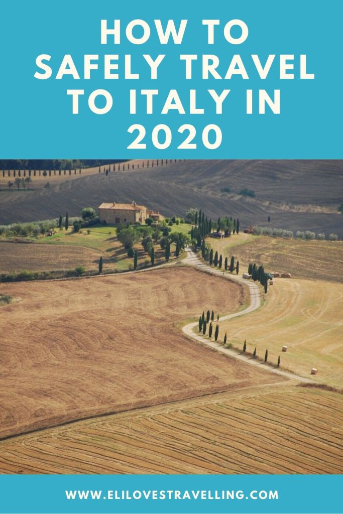 How to safely travel to Italy in 2020 3