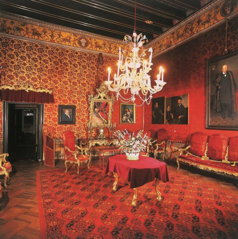 Sala rossa Castello di Thiene