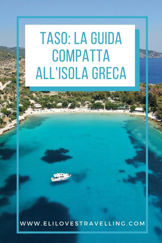 Isola di Thassos, Grecia: la guida compatta 1
