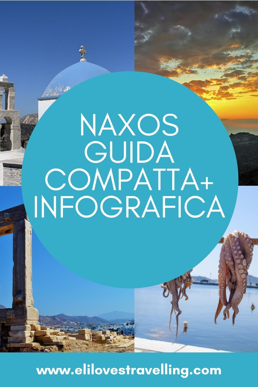Naxos, quattro foto più scritta per Pinterest