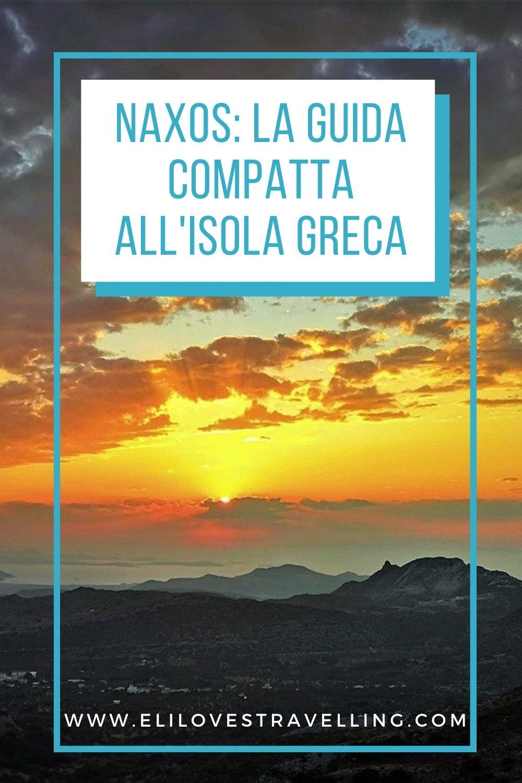 Naxos_grafica Pinterest con tramonto e scritta