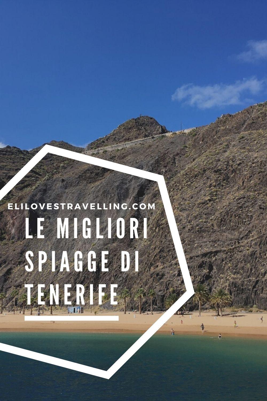 Le 5 spiagge più belle di Tenerife 2