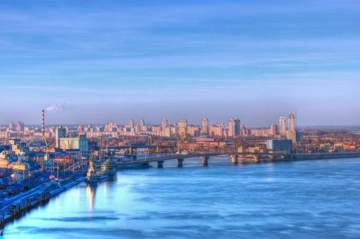 Киев. Набережная