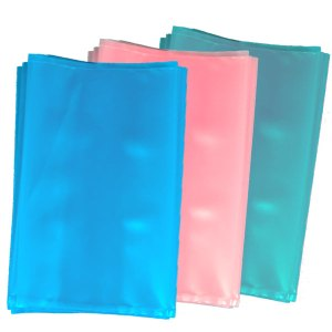 """Static Dissipative """"Anti Static"""" Bags are Blue, Pink, and Green"""
