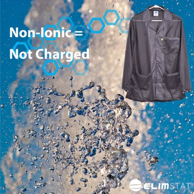 Use Non Ionic ESD Detergents and Fabric Softeners to Wash ESD S20.20 Garments