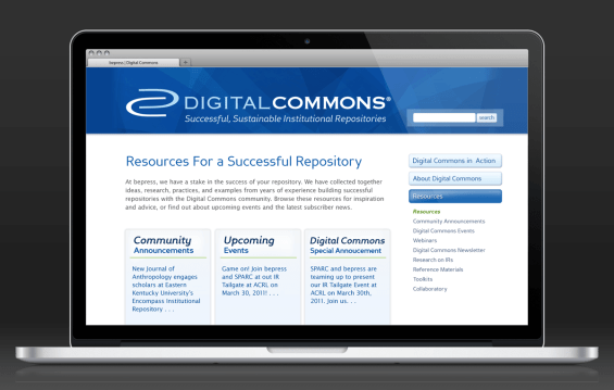Digital Commons Site - Resources Center