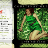 Courtenay Green & The Red Scare MPMF postcard