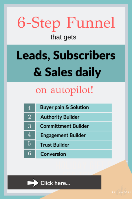 6 step funnel that gets leads, subscribers and customers daily on autopilot