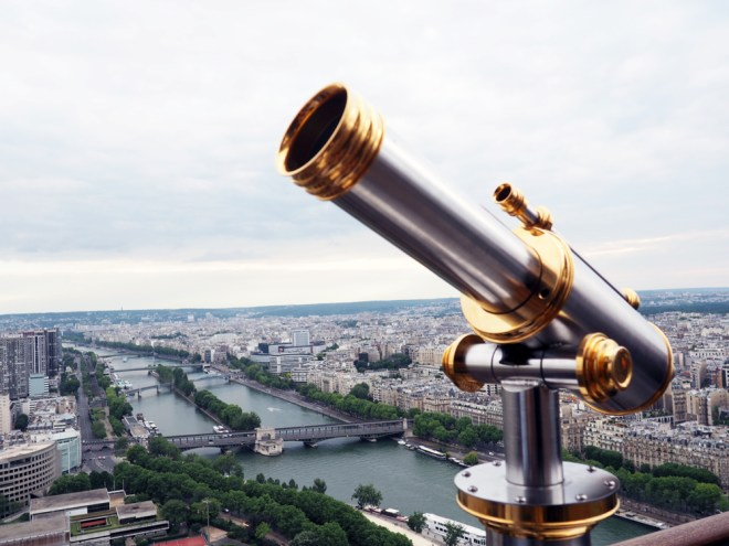 paris in pictures - eiffel tower view