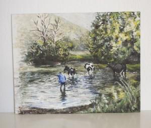 Oil paint, 2010