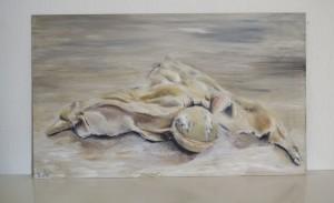 Oil paint, 2013
