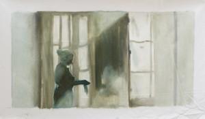 Oil paint, 2017ca. 50 x 100 cm