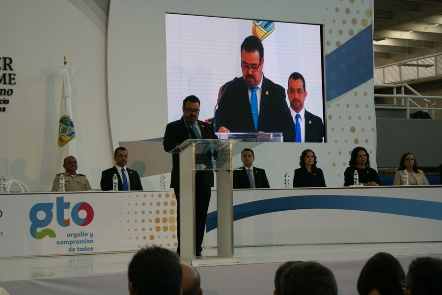 Primer Informe de Gobierno de Ysmael López García, alcalde de San Francisco del Rincón