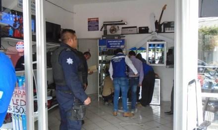 Hacen operativo en casas de empeño, yonkes y bazares de San Francisco del Rincón