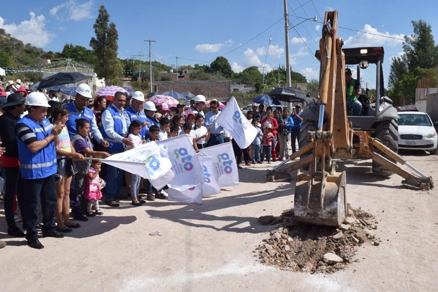 Inician obras de drenaje en Purísima y Manuel Doblado