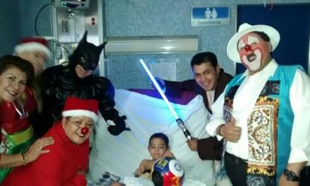 Colectan alegría para niños del Hospital Regional