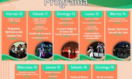 Conoce el programa de festejos del 336 Aniversario de la fundación de Manuel Doblado