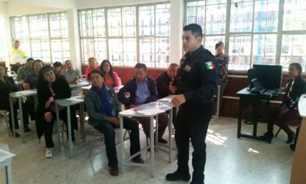 Alumnos del Cbtis aprenden a reaccionar ante emergencias