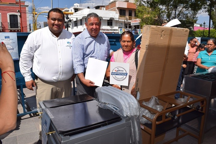 Empresarios de Purísima reciben apoyo