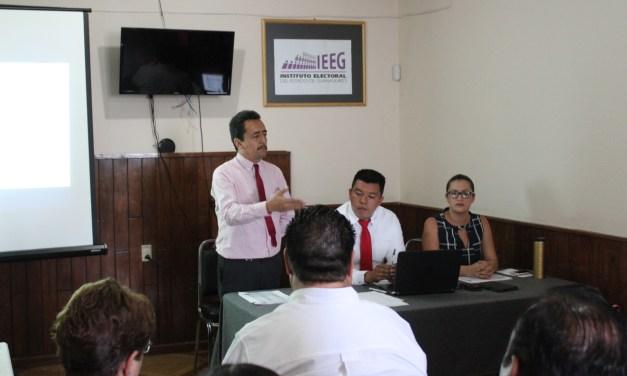 Presenta IEEG modificaciones al distrito X
