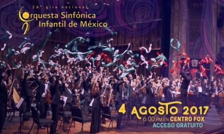 Disfruta de la Orquesta Sinfónica Infantil de México enCentro Fox