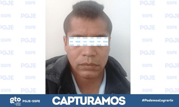 Tras investigación, capturan a homicida de San José de la Calera