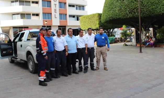 """""""Topos"""" de San Francisco del Rincón van en auxilio de víctimas de terremoto"""