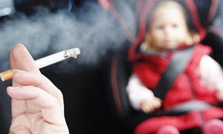 El peligro de fumar frente a tus hijos