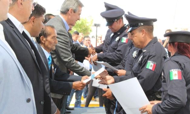 Se gradúan elementos de Seguridad de Purísima del Rincón