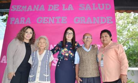 Inician semana de Salud del Adulto Mayor