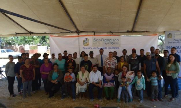 Inician octava capacitación en pespunte para comunidades de San Francisco del Rincón