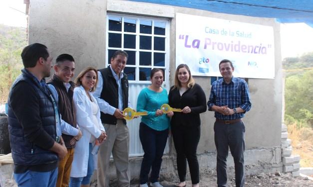 Inauguran primer Casa de la Salud en comunidad de Manuel Doblado