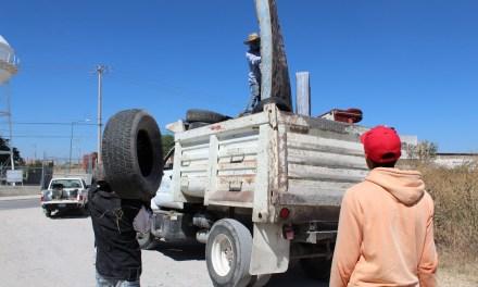 Para prevenir enfermedades, recolectan 22 toneladas de desechos en Purísima del Rincón
