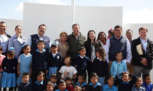 Estrenan dos escuelas primaria en San Francisco del Rincón