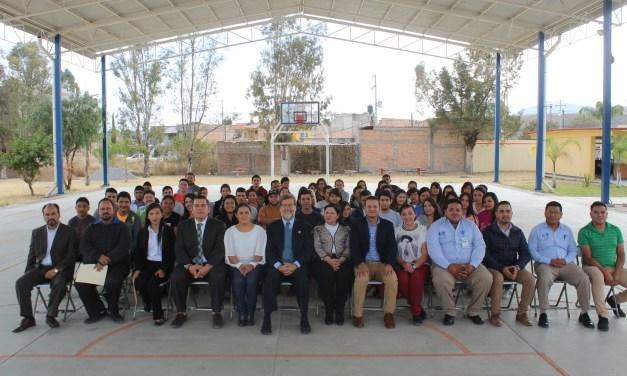 Inician segundo semestre alumnos del ITSPR Manuel Doblado