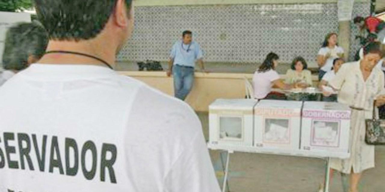 Buscan observadores electorales