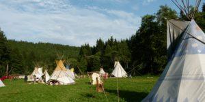 Индианските лагери в Европа
