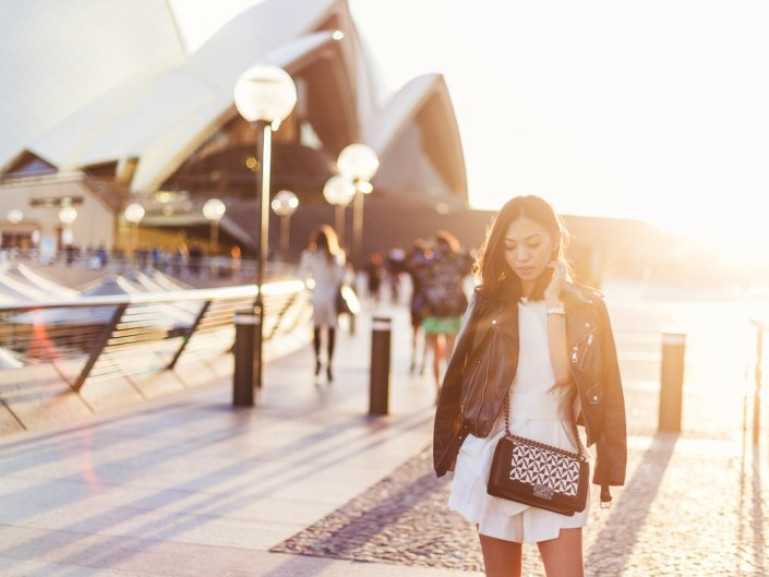 Opera House Fashion Blogger Portrait Session//Amanda