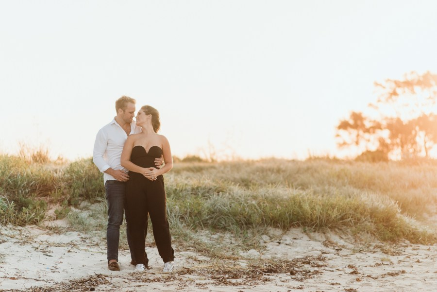 Kurnell Beach National Park Sydney Engagement Shoot Elinlights Photography-12