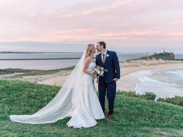 Newcastle NSW//Fort Scratchley Wedding