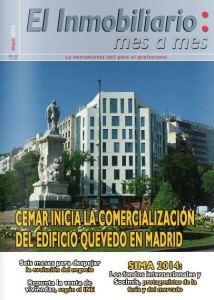 Revista El Inmobiliario mes a mes, número 135, mayo de 2014. Noticias del sector inmobiliario español.