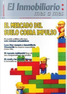 Revista El Inmobiliario mes a mes, número 145, agosto-septiembre de 2015. Noticias del sector inmobiliario español.