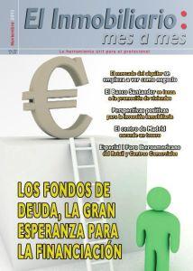 Revista El Inmobiliario mes a mes, número 129, noviembre de 2013. Noticias del sector inmobiliario español.