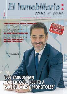 Revista El Inmobiliario mes a mes, número 150, marzo 2016. Noticias del sector inmobiliario español.